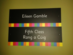 Eileen Door Sign