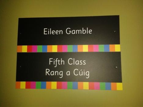Eileen Door Sign